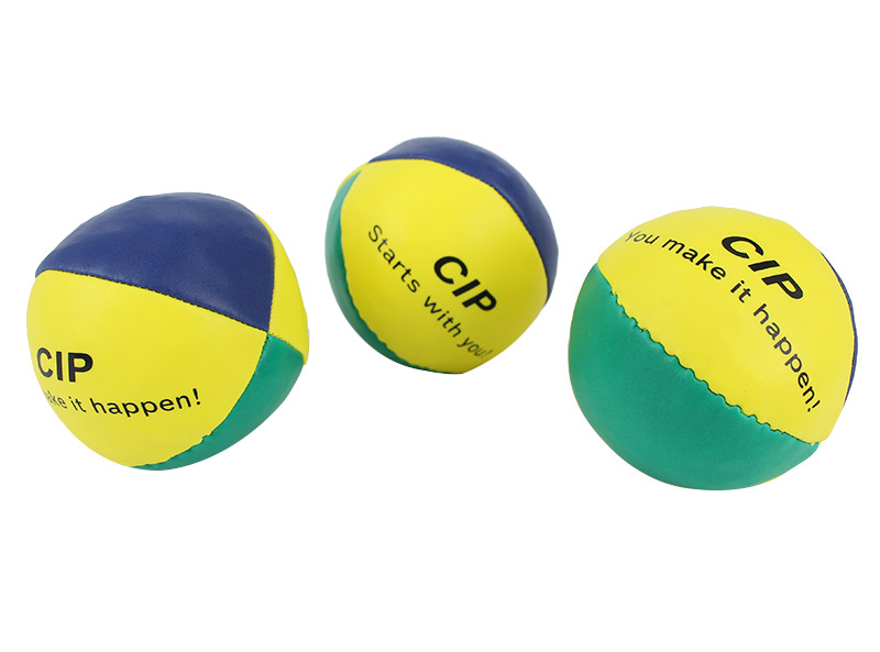 PVC Leather 4 Panels Jugging Ball