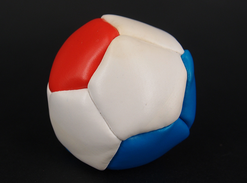 12 Panels PVC Leather Hacky Sack