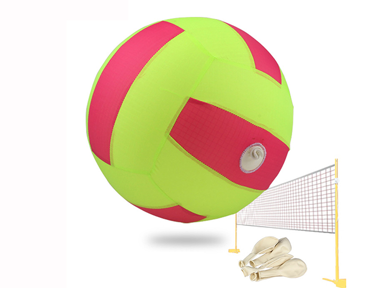 Inflatable Air Balloon Bouncing Ball with Nylon Ripstop Sleeve