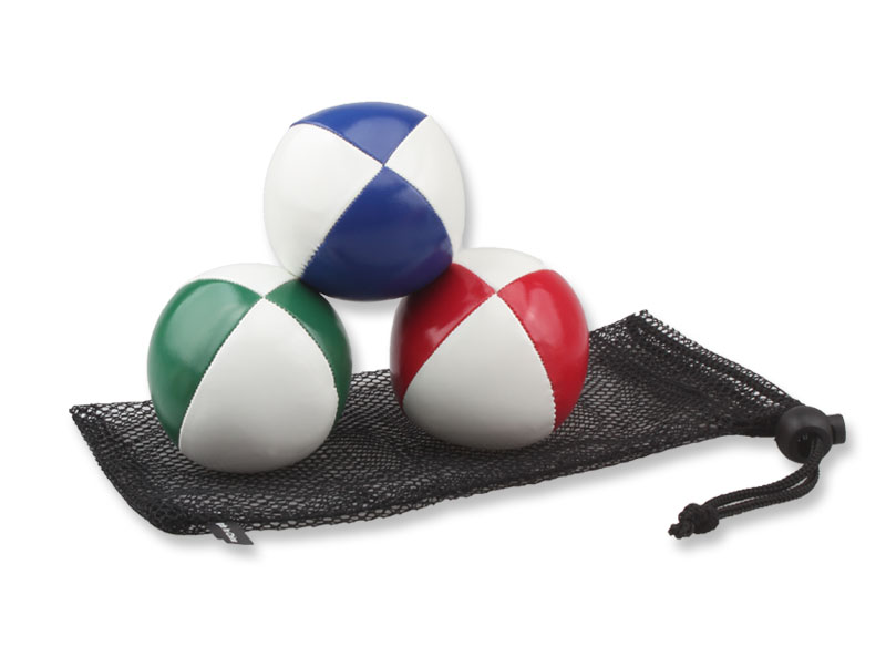 4 Panels PU Leather Juggling Ball in Good Quality