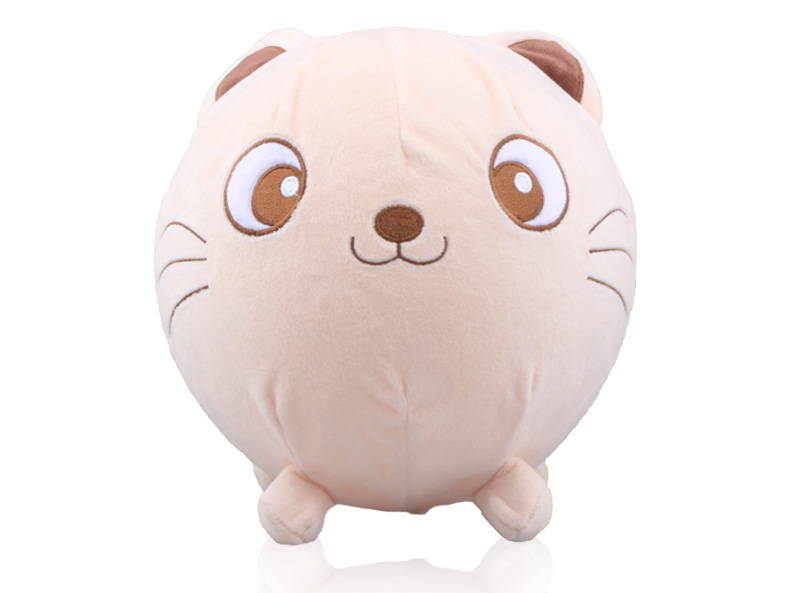 New Design Balloon Ball with Plush Animal Sleeve